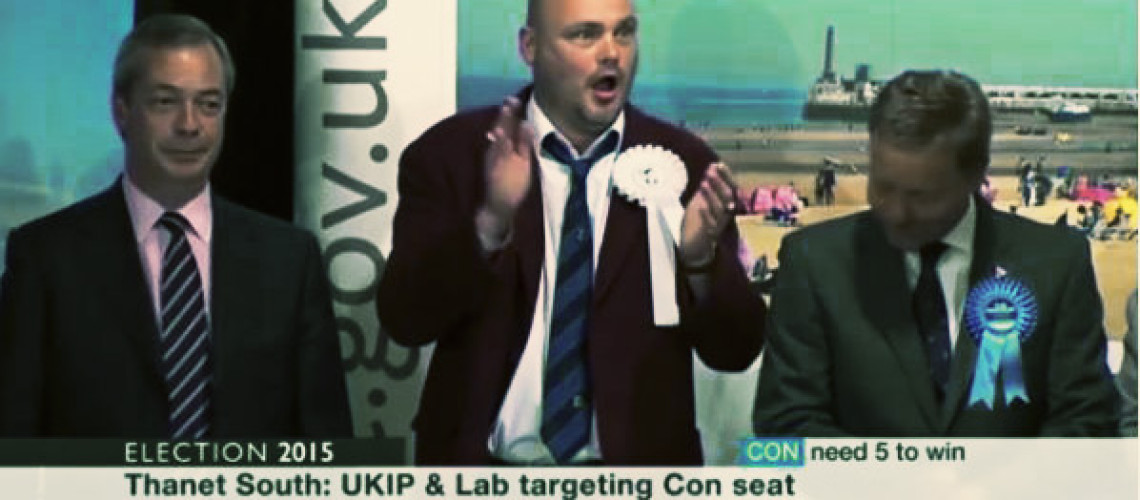 Al Murray campaign in Thanet against Farage 'backed by BBC'
