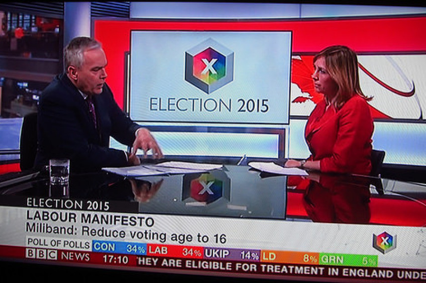 Harding's defence of  BBC election coverage 'does not stand up to scrutiny'