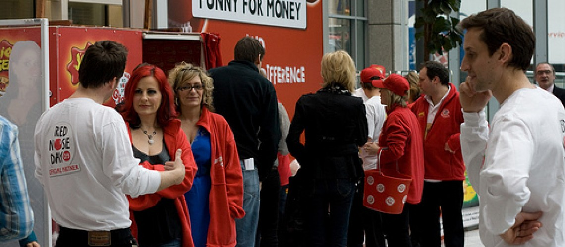 BBC 'Enmeshed in Comic Relief'