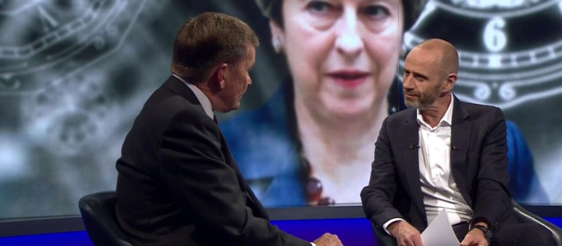 Evan Davis cranks up BBC anti-Brexit rhetoric