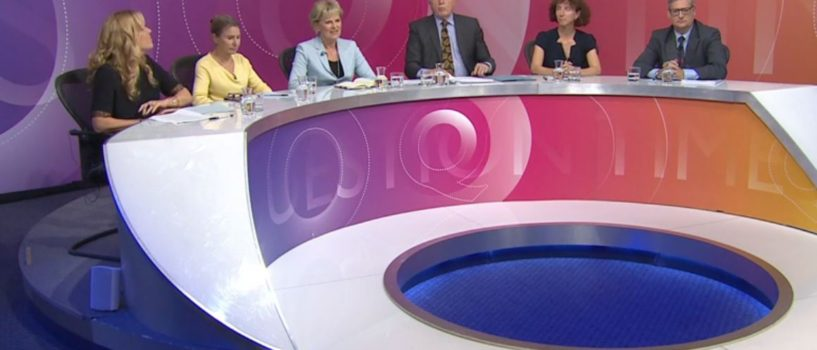 Time for a re-think on BBC1 Question Time?