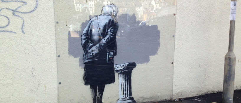 The BBC's LOVE AFFAIR WITH BANKSY